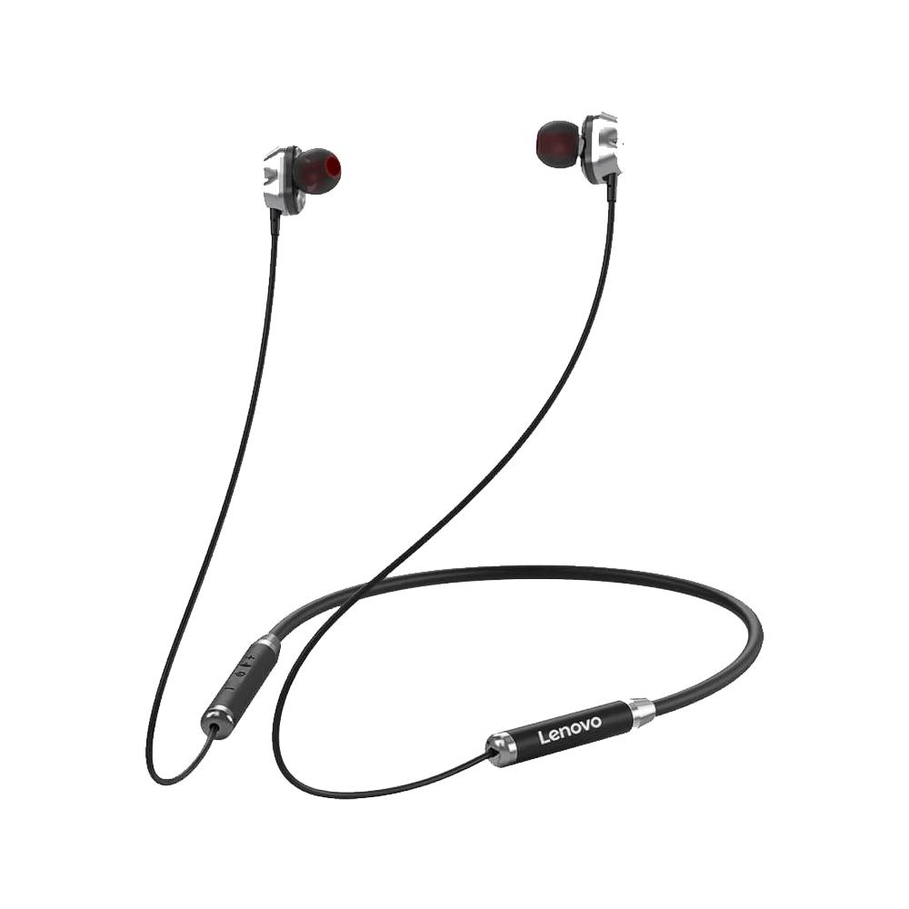 Lenovo HE08 Wireless In-Ear Neckband Earphones