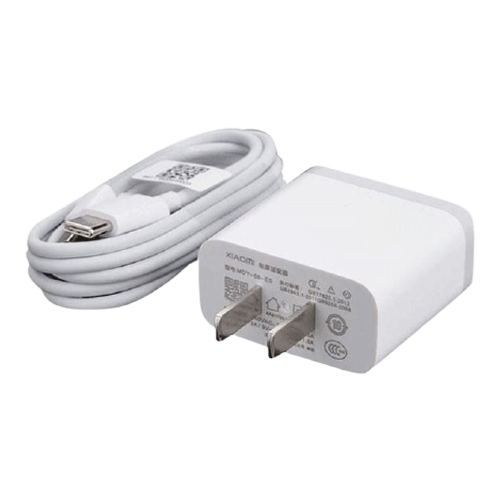 Mi 3A Quick Charger With Micro USB Type C Cable