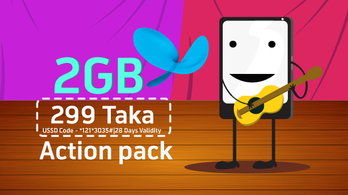 Action Pack 2GB