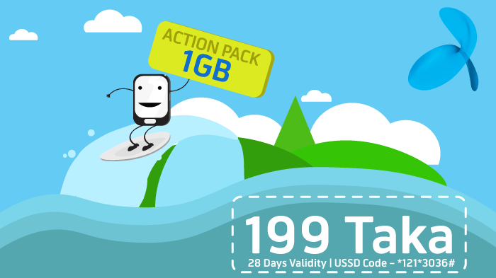 Action Pack 1GB