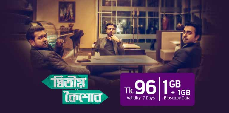 96 Taka Data Bundle Offer | Grameenphone