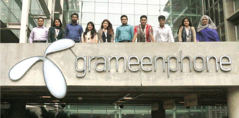 Grameenphone GP job