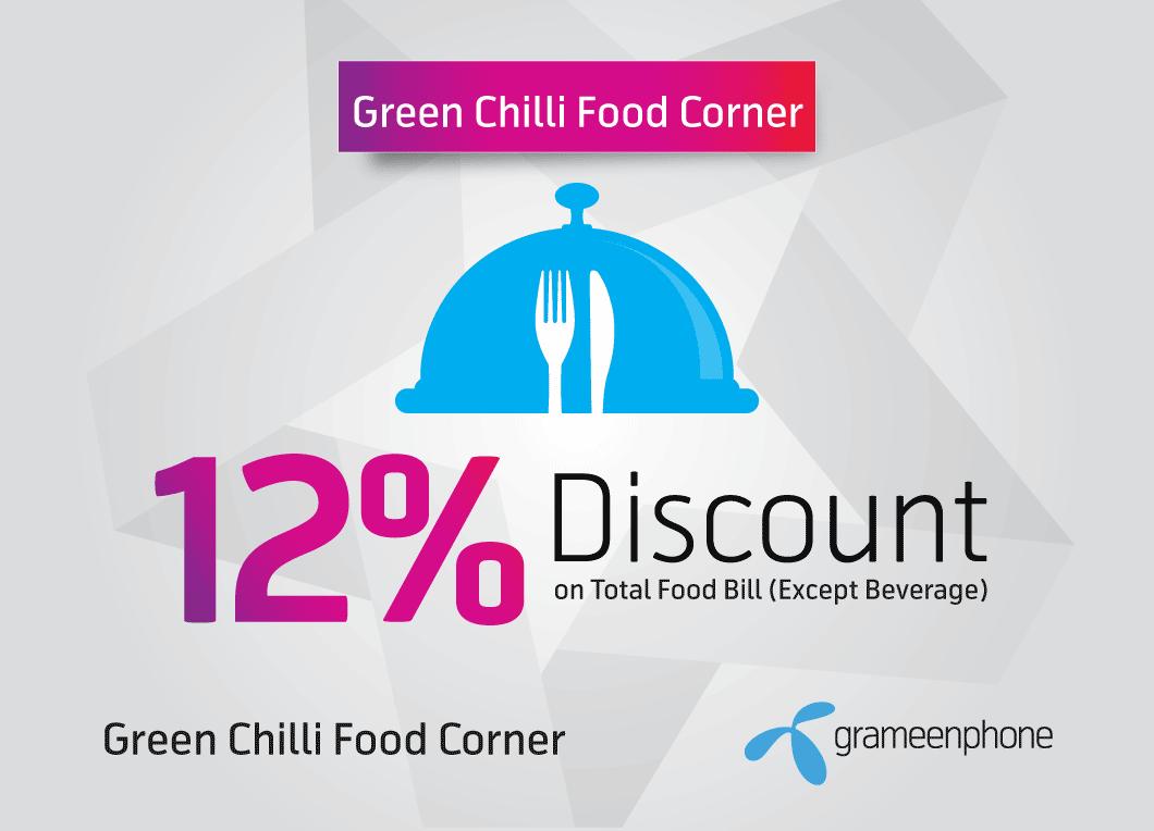 Star Offers at Green Chilli Food Corner