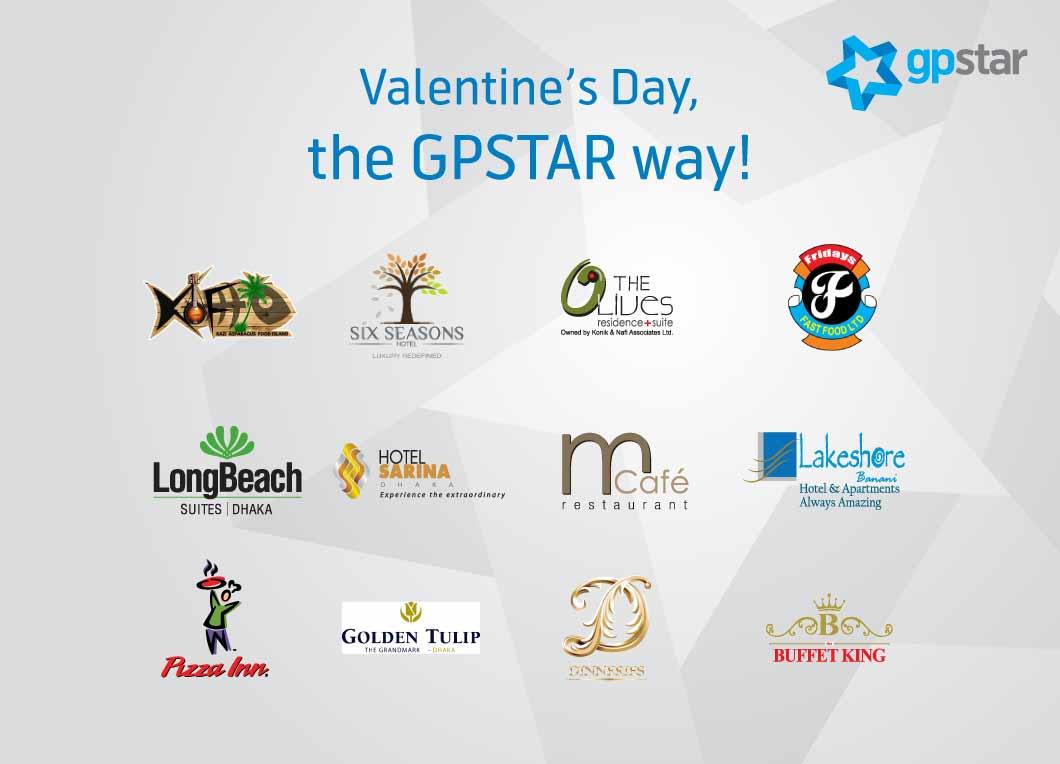 Grameenphone Valentine's Day Dine STAR Offer