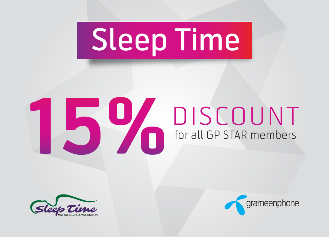 GP Star offer at Sleep Time
