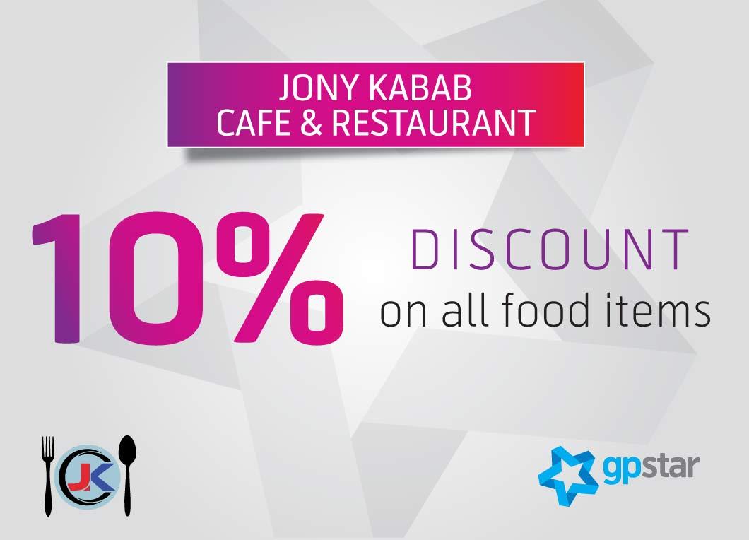 Star Offer at JONY KABAB